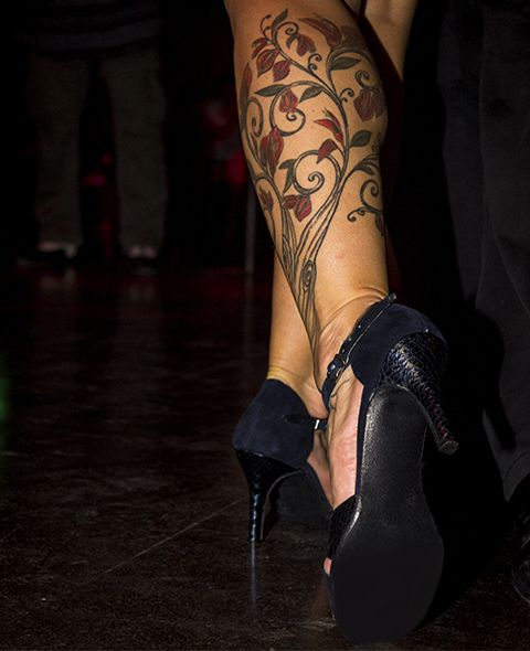 La sensualidad del Tango