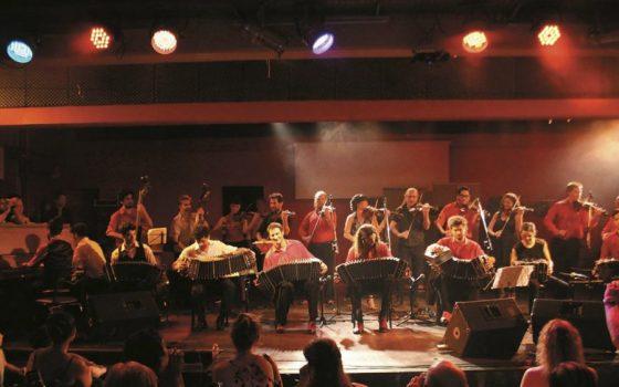 Brillante encuentro de Orquestas en La Viruta