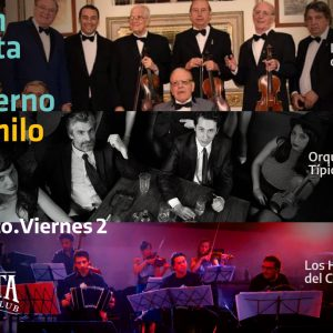 Fiesta de Invierno – Los reyes del Tango, O.T. Tanturi, Los Herederos del Compás