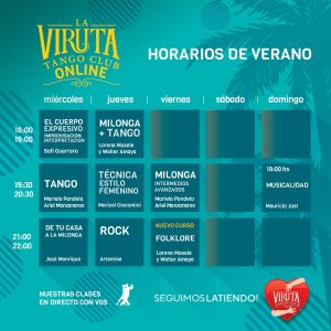 GRILLA. CLASES ON LINE